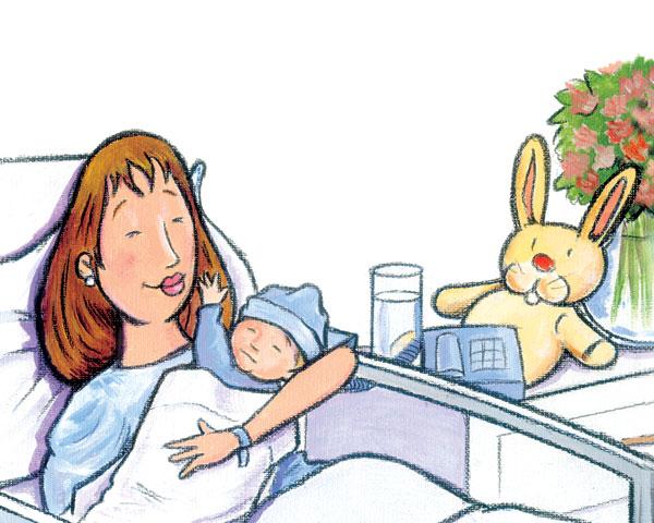 Feliz en el Hospital